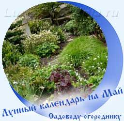 Лунный календарь огородника на Май, ландшафтный дизайн