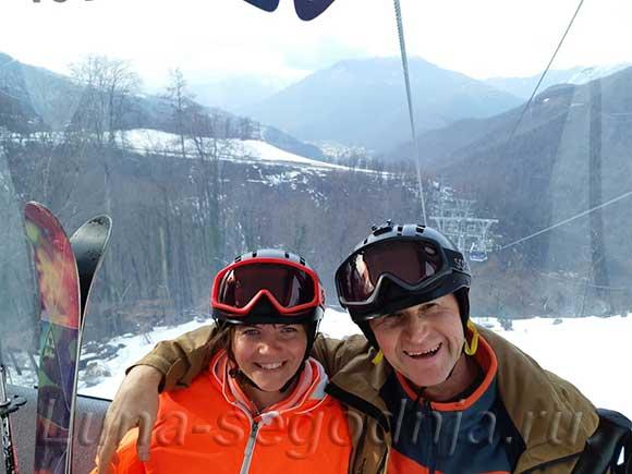 Едем кататься на горных лыжах в Роза Хуторе