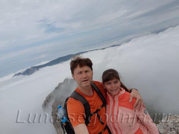 Горы в облаках - это так романтично
