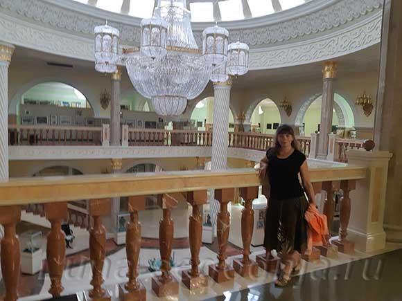 В музее Кадырова, Грозный, Чеченская Республика