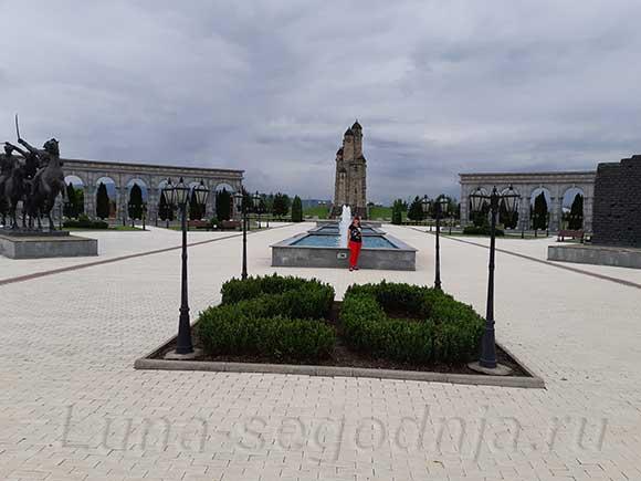 Мемориал памяти и славы в Ингушетии