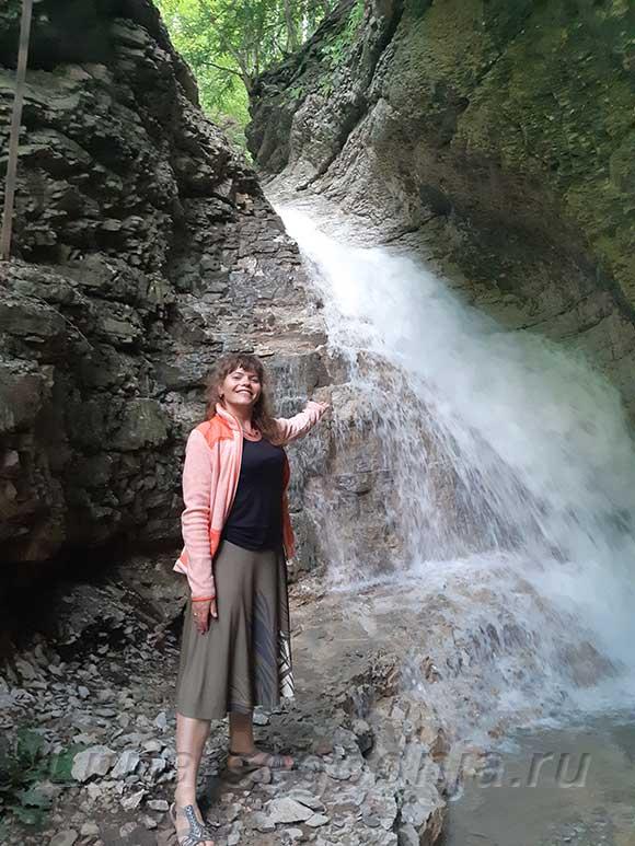 Чечня, Аргунское ущелье - Нихолаевские водопады.