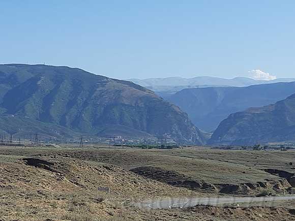 Горная местность в Дагестане