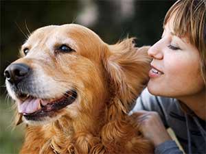 Женщина Собака