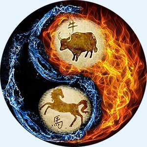 Мужчина-Быка и женщина-Лошадь