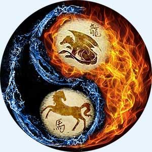 Мужчина-Дракон и женщина-Лошадь