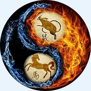 Мужчина-Крыса и женщина-Лошадь