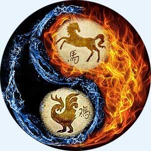 Мужчина-Лошадь и женщина-Петух