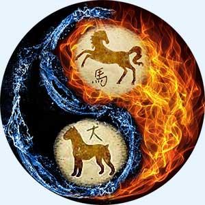 Мужчина-Лошадь и женщина-Собака