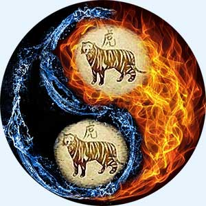 Мужчина-Тигр и женщина-Тигр
