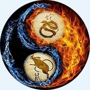 Мужчина-Змея и женщина-Крыса